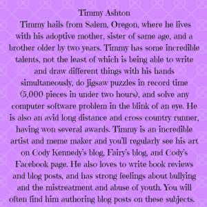 Timmy Ashton Bio